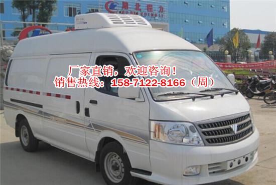 小型福田冷冻运输车猪肉冷藏车配置售价