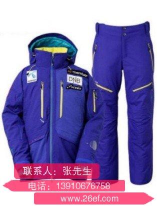 泰州女式滑雪服定做那个加工厂家好