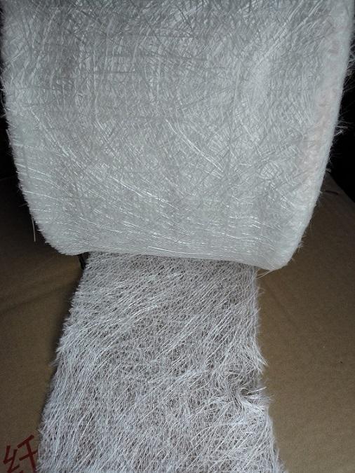 全国拉挤玻璃钢专用无碱玻璃纤维缝边毡、针织毡