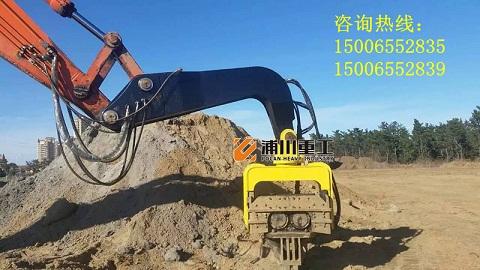 挖掘机液压震动打桩机打桩锤厂家图片