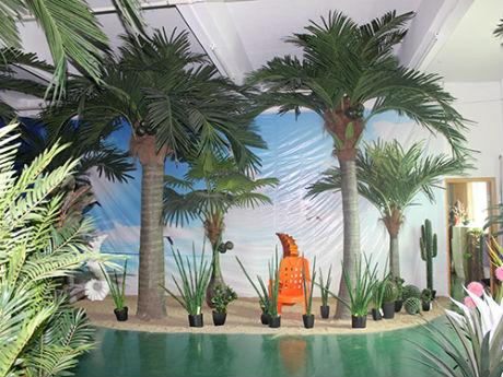 仿真椰子树价格 大型室内室外椰子树景观装饰定制