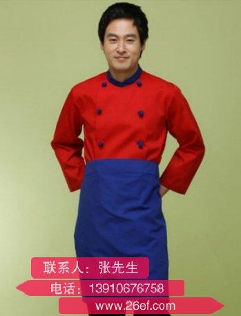上海加工单排扣厨师服哪个厂家好