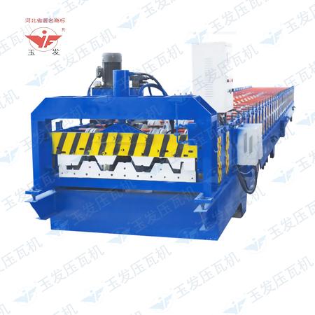 供应河南彩钢楼承板压型机楼层板设备压瓦配套冷弯成型彩钢一体机