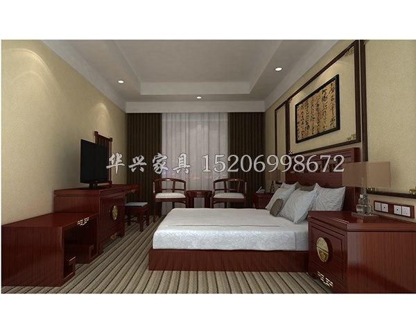 酒店配套家具买优惠的酒店配套家具来华兴木业