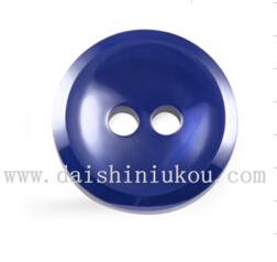 新款陶瓷纽扣圆形两眼西服衬衫特色扣子
