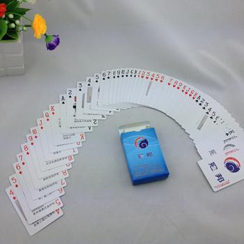 定做广告扑克牌