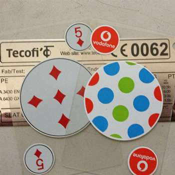 透明PVC扑克牌定制印刷