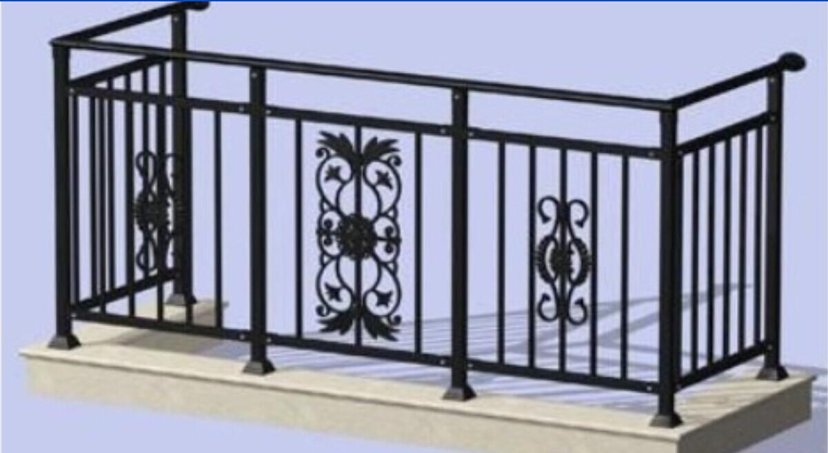 浅谈:锌钢阳台栏杆的优势特点汇总图片