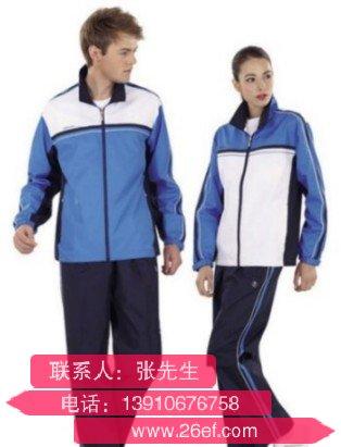 上海情侣运动装套装定制那个公司好
