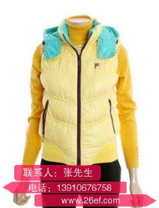 上海品牌羽绒棉马甲韩版那个牌子好