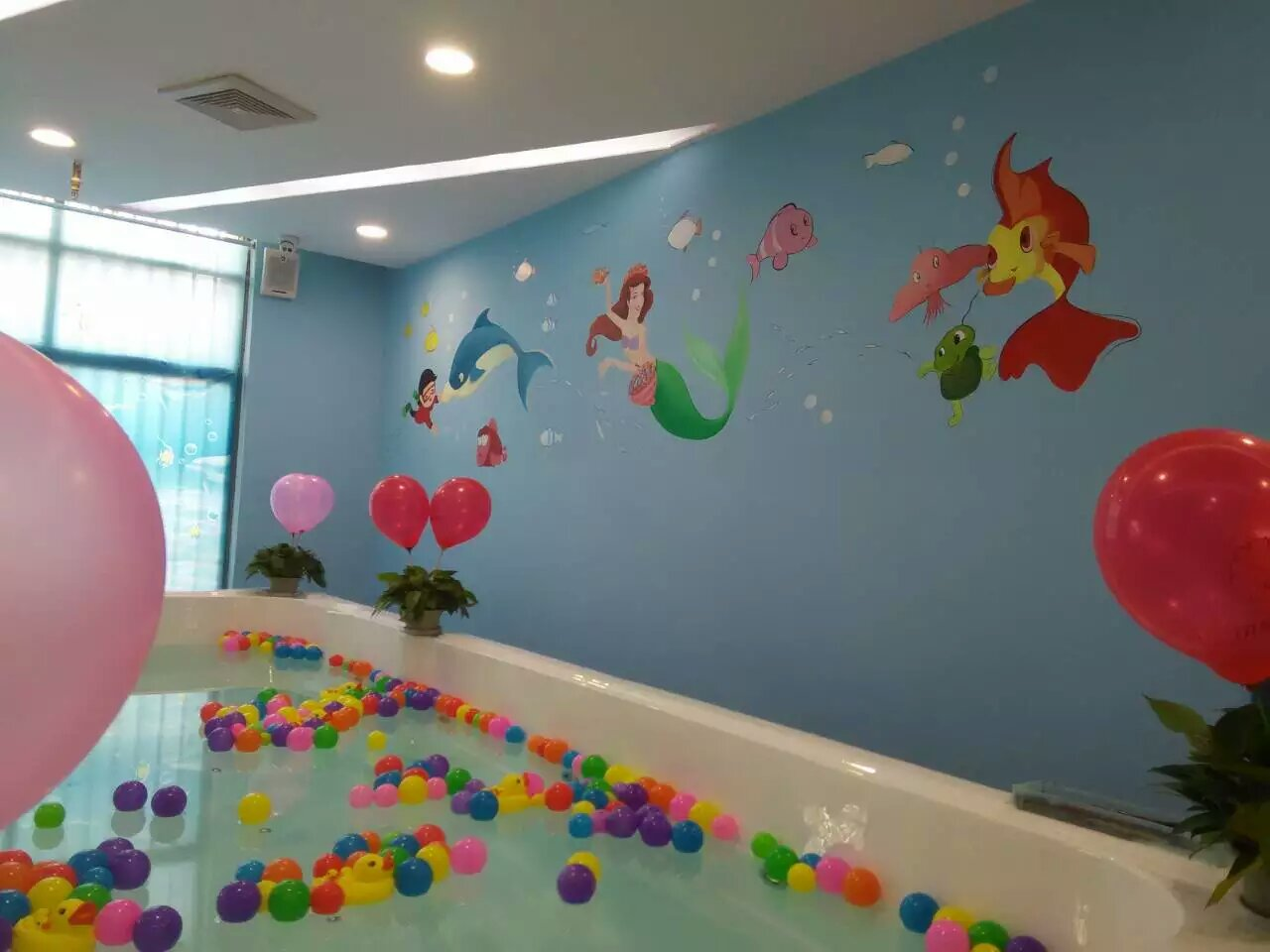 无锡幼儿园墙体彩绘