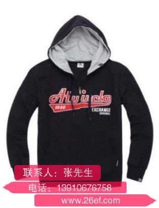 上海订购秋季卫衣帽衫哪家好