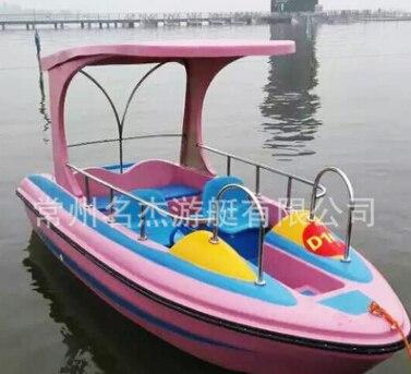 常州专业的4-5人休闲电动船哪里买:戚墅堰电动船