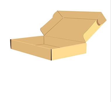 快递纸箱矢量图