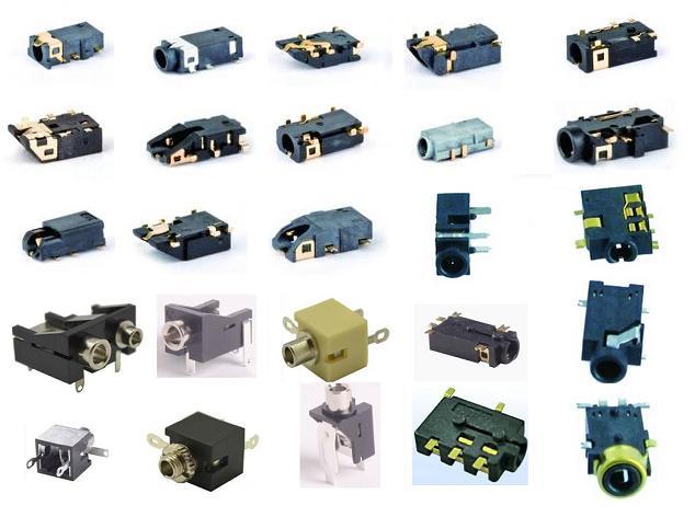 耳机插座内部结构图/耳机插口内部电路图/耳机插孔设计解答/耳机插孔
