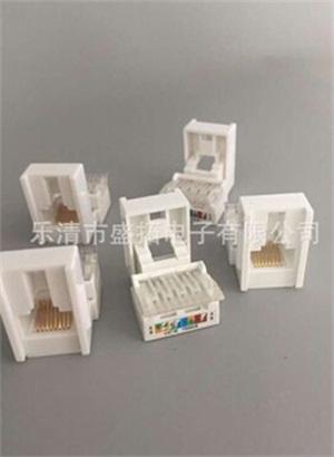 新款超五类电脑网络模块 CAT5E RJ45信息网线模块 过测试 可OEM