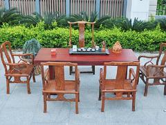 买超值的非洲红花梨大板、首要选择框广工艺 福州根雕工艺品代理