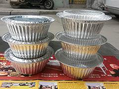 武汉地区划算的锡纸碗   :新疆煲仔饭打包碗