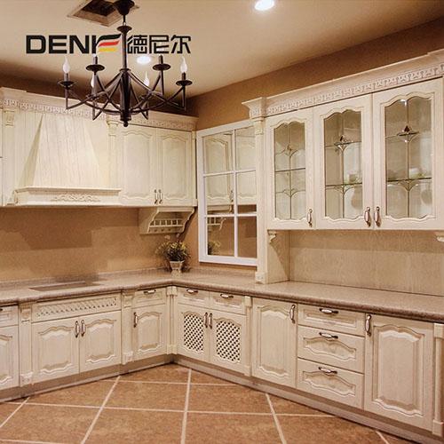 厨房整体橱柜定制 欧式厨柜定做