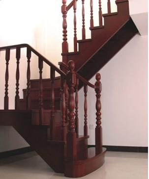 大柱 小柱 踢脚线)          北京亿豪楼梯厂家直销实木楼梯 实木楼梯