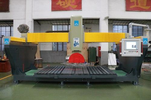 异型石材需求量大、数控五轴桥式切石机一机多用神威