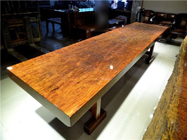 红木巴花大板茶桌大班台会议桌办公桌专卖、广西销量好的红木巴花大板茶桌