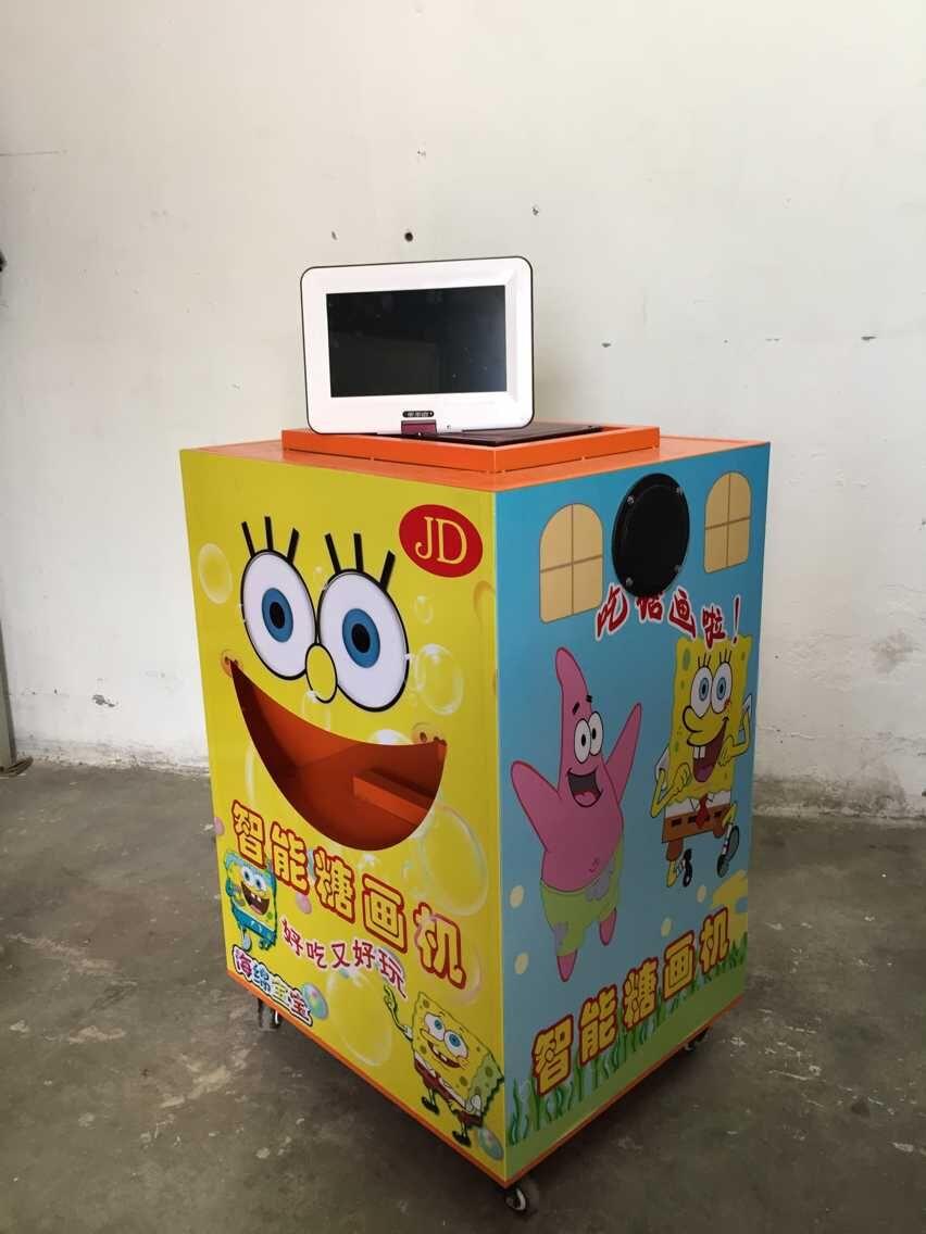 智能糖画机可靠吗 智能糖画机多少钱 糖老鸭智能糖画机