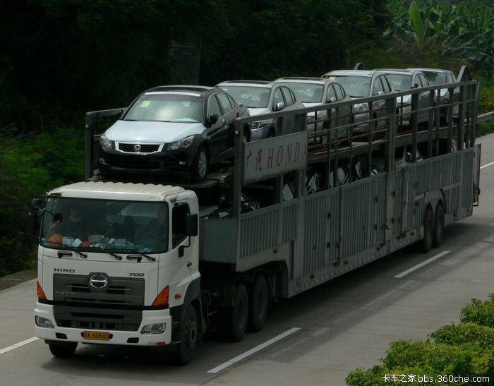 柳州到海口轿车托运公司知道车到哪里了