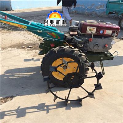 果园专用开沟机老式手扶拖拉机8马力手扶耕地机图片