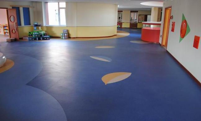 广西柳州儿童环保绿色地垫,广西幼儿园pvc地胶,儿童塑胶地板