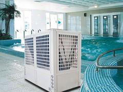 蓝天绿水优质游泳池空气能热水器供应商随州恒温游泳池热水器