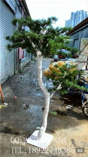 大型假树造型树 仿真松树 家居落地装饰树