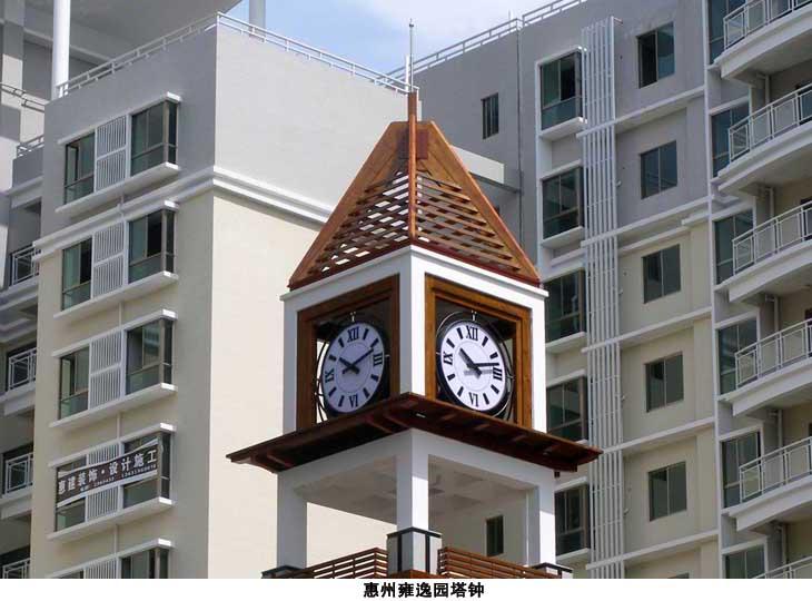 供应定制康巴丝室外智能建筑塔钟