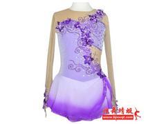 优乐国际娱乐平台炫舞蜻蜓花样滑冰裙您绝佳的选择:优乐国际娱乐平台花样滑冰裙定做