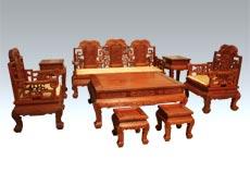 清式红木客厅家具 古典红木家具 王义红木家具
