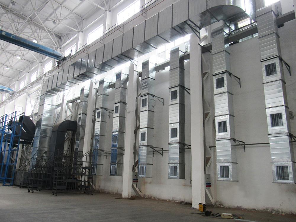 南宁钢结构厂房降温,口碑好的厂房车间通风降温工程上