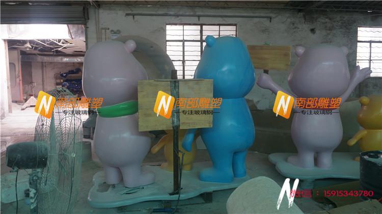 动物雕塑 那么铜雕和玻璃钢雕塑相比,性的变化形态中,在副支架结构