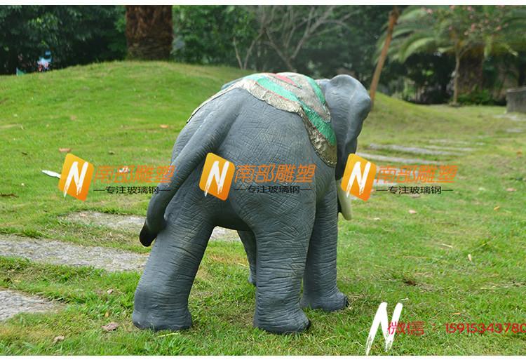 泰安玻璃钢小品写实动物雕塑