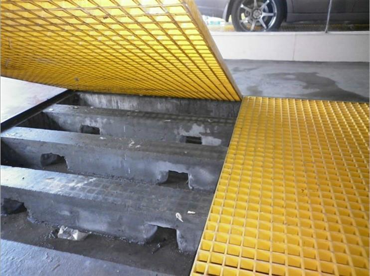 南昌市洗车38*38*38玻璃钢格栅板