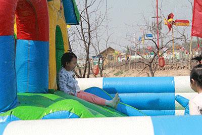 太原农家乐 六一儿童游乐 天怡山儿童游乐园 儿童游乐城堡迷宫淘气堡