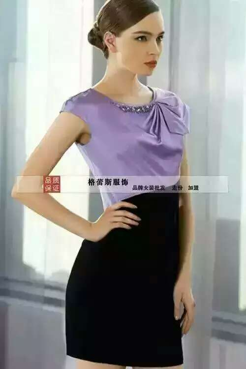 一二线品牌素帛格蕾斯女装薇妮兰加盟原装现货
