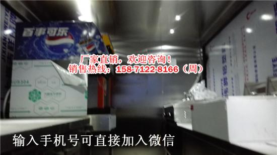 带LED屏售卖品的流动餐饮车俊浩生产