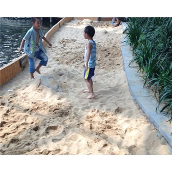 贵州贵阳儿童游乐场沙滩乐园用海砂