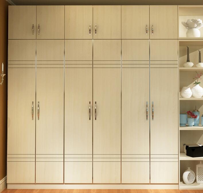 万科的房子都是精装修的,仅仅只需要定制一些柜子就可以入住.