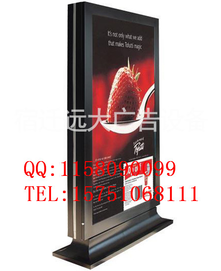长时性:滚动灯箱广告存在时间相对较长,采用不锈钢结构,宽大的钢化