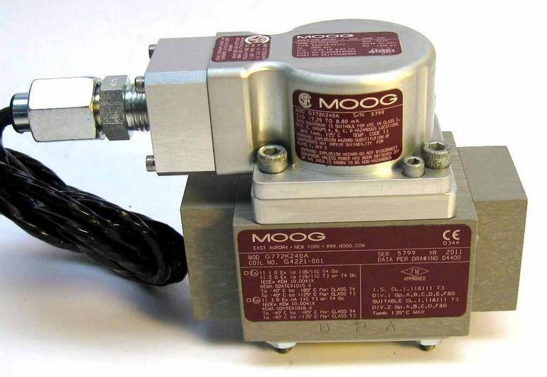 美国MOOG穆格伺服阀的工作原理