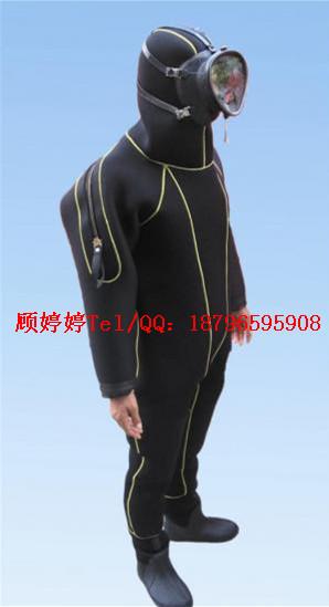 干式潜水服 潜水服连体保暖干式潜水服