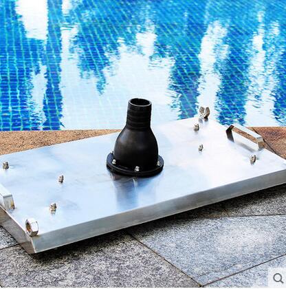厦门泳池人工吸污设备、不锈钢吸污盘、手拉式吸尘器 福建游泳池设备厂家