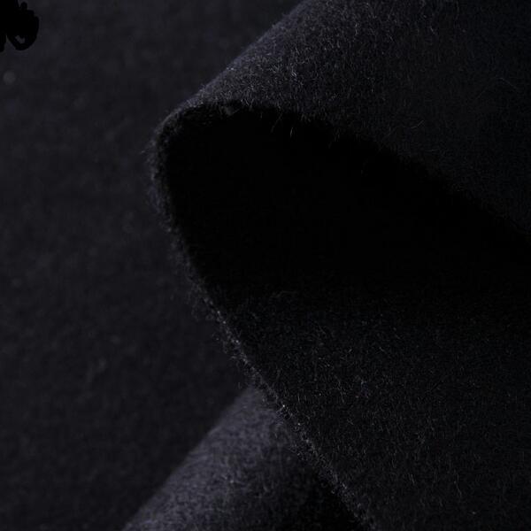 神彩慧数码印花面料双面羊毛大衣PS-Y03
