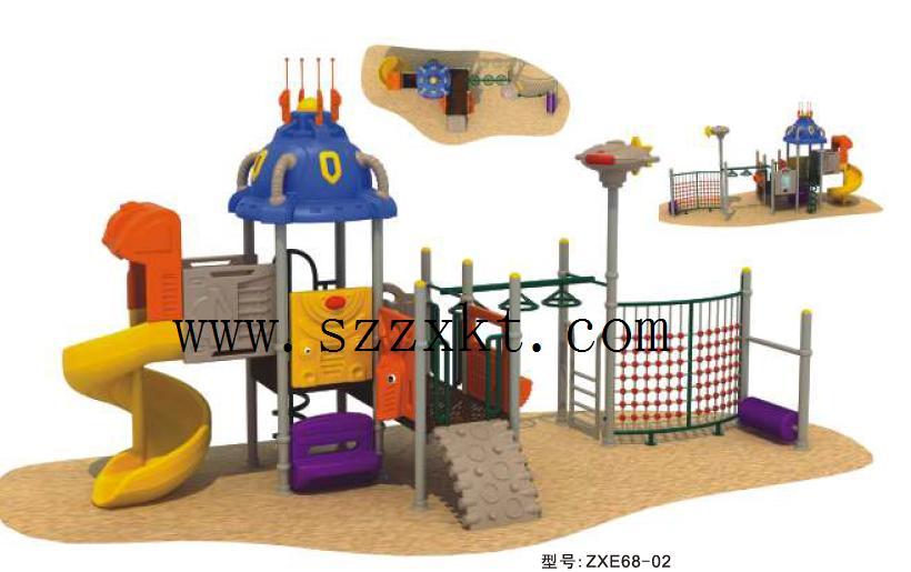 公园儿童游乐场淘气堡制造厂、公园儿童游乐场充气城堡经久耐用
